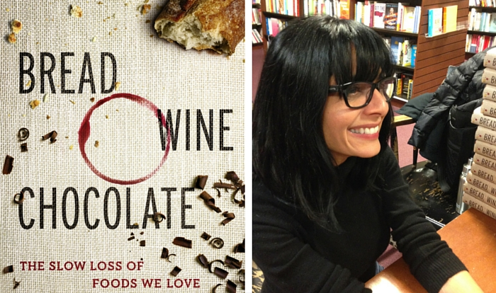 Simran Sethis Buch: Bread, Wine and Chocolate ©Simran Sethi